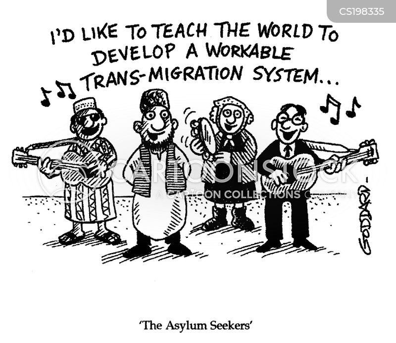 asylum seeker cartoons The death of europe by the catholic reporter,  mohammed riyad, a 17-year-old asylum seeker,  the magazine had dared to print cartoons of the prophet.