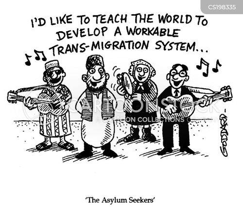 asylum cartoon
