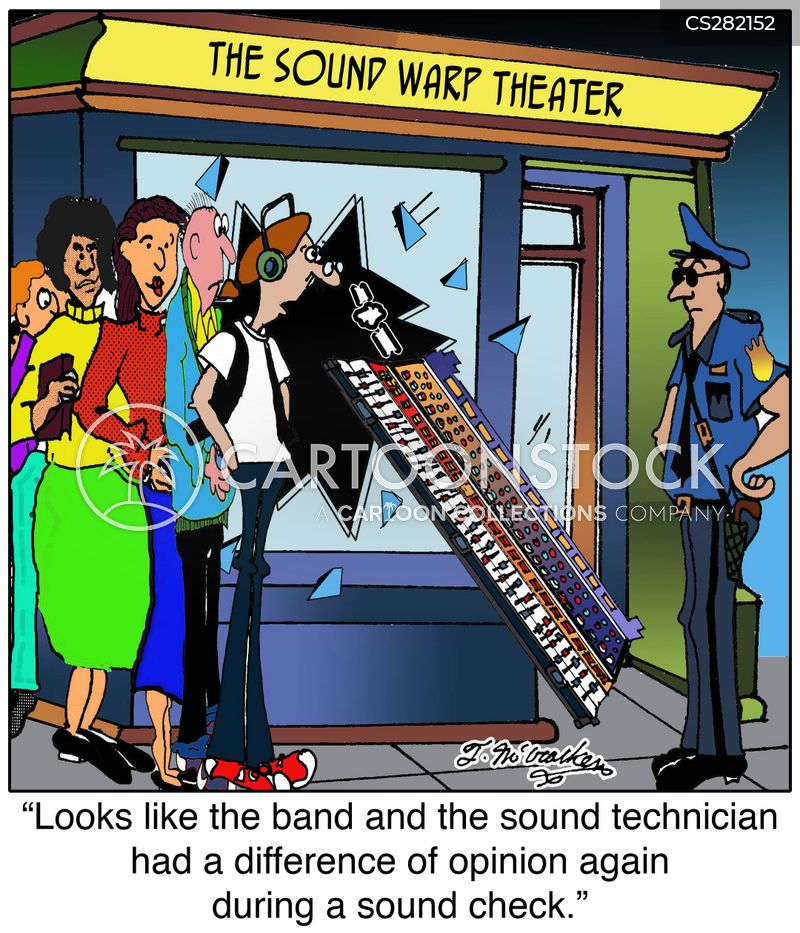 Sound Check Cartoons and Comics - funny pictures from
