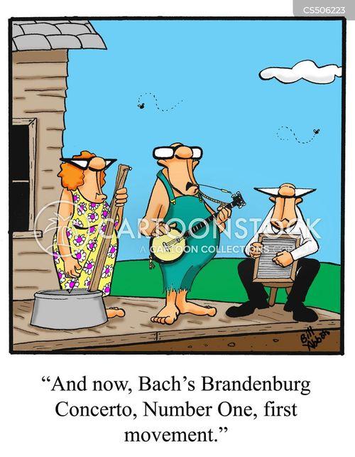 chamber music cartoon
