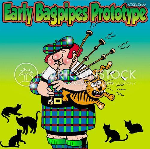 highlands cartoon