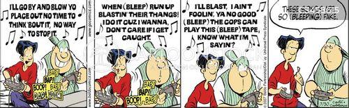 gangsta rap cartoon
