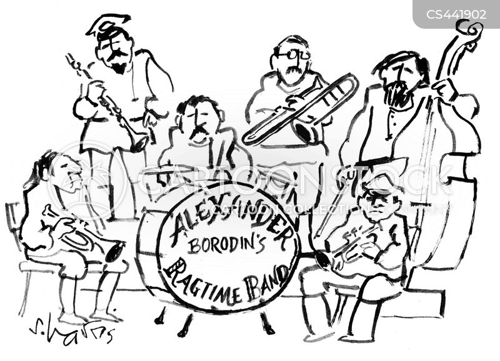 romantic composers cartoon