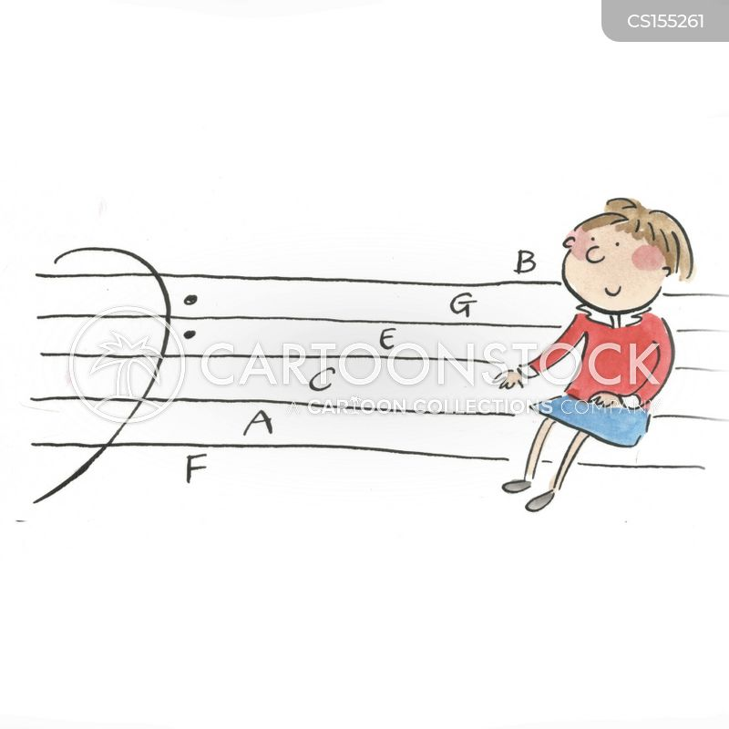 music classroom cartoon