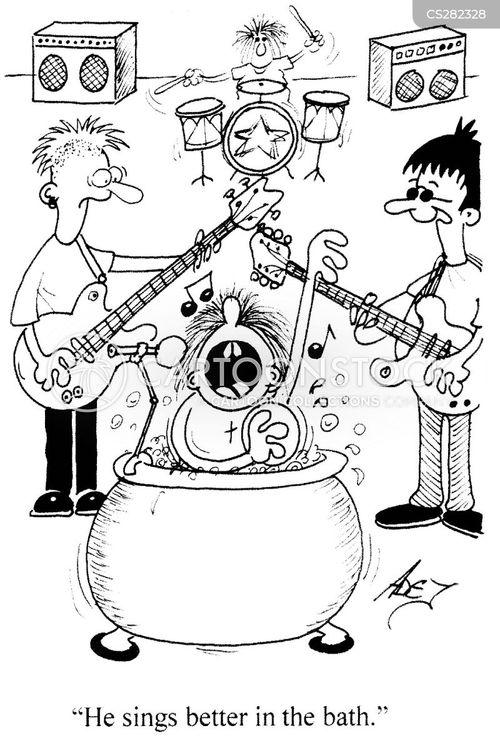 frontman cartoon