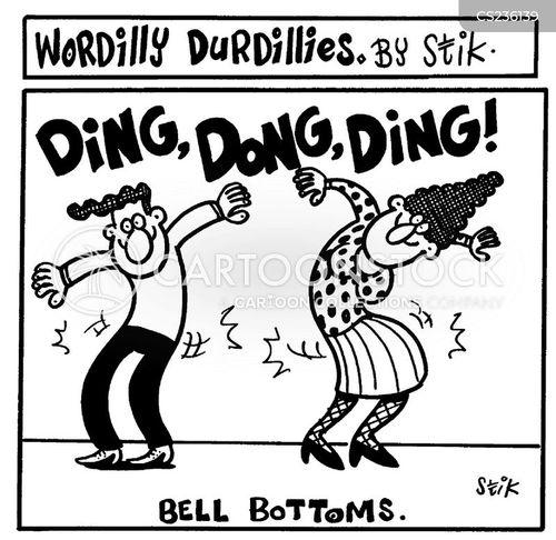 bell bottoms cartoon