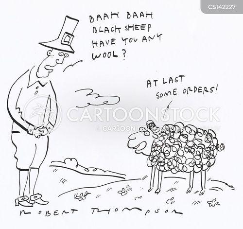 wooly cartoon