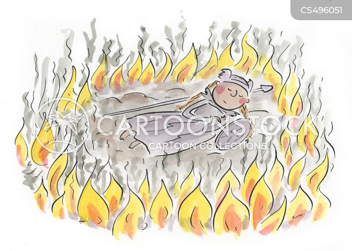 pyre cartoon