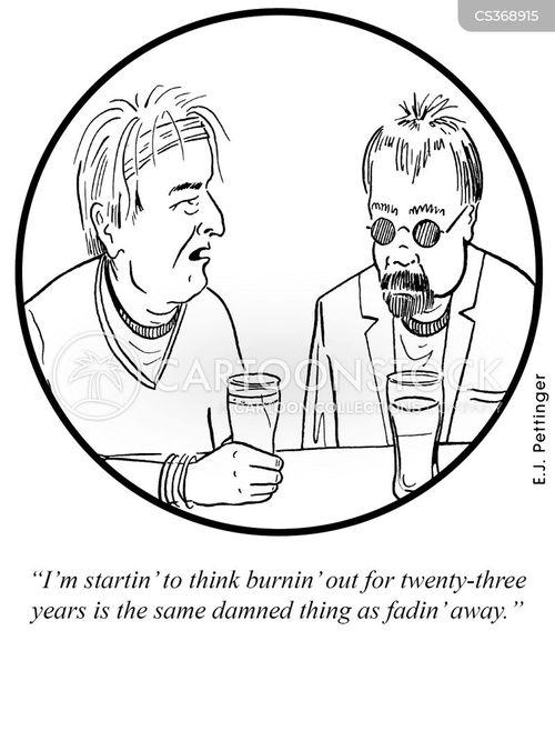 fade out cartoon