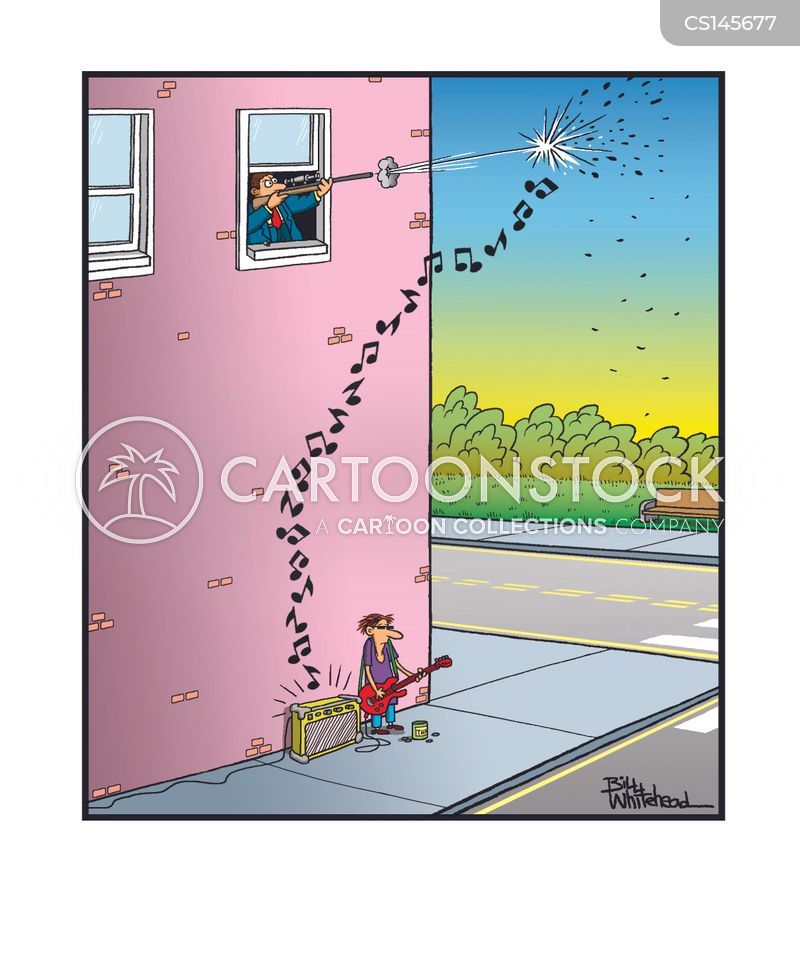 Musical Note Cartoons and Comics - funny pictures from