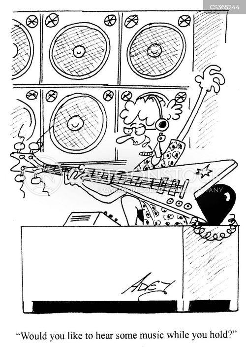 telephone operators cartoon