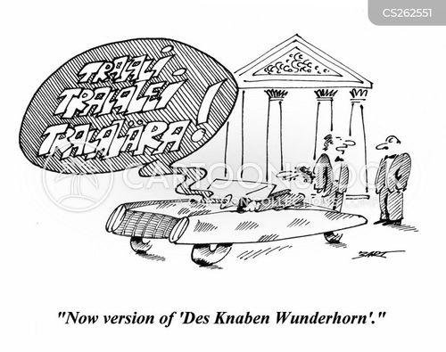 des knaben wunderhorn cartoon