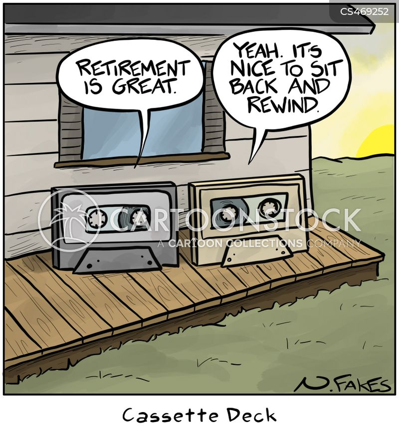 cassettes cartoon