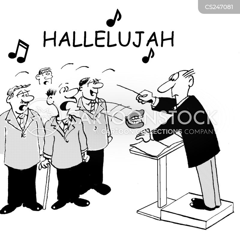 choirmaster cartoon