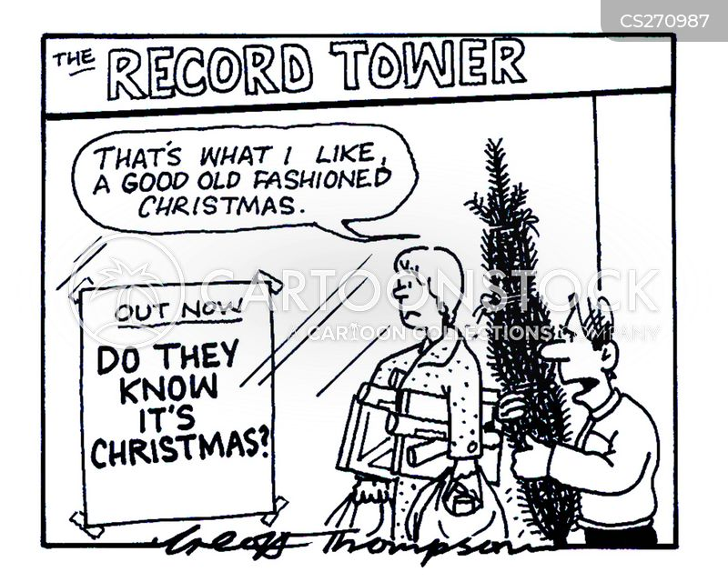 Old Fashioned Christmas Cartoons And Comics