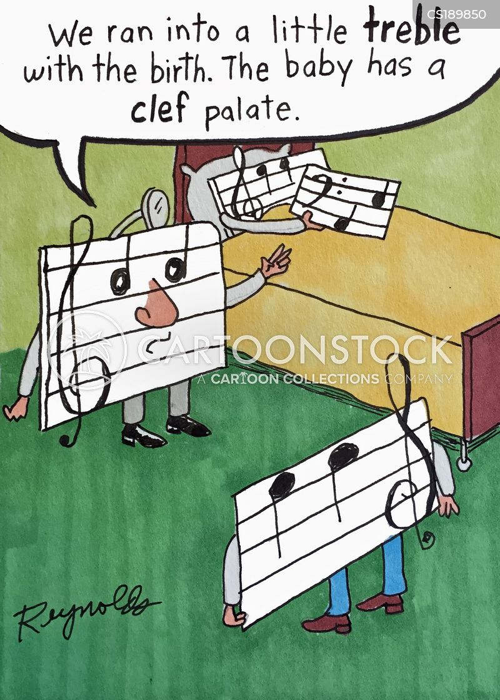 musical scale cartoon