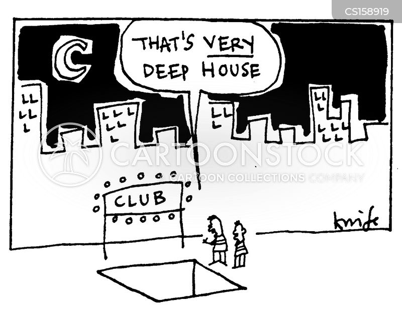House music cartoons and comics funny pictures from for What s deep house music