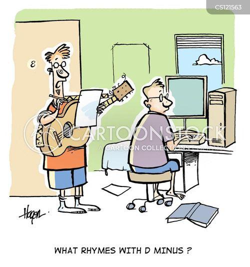 drop-outs cartoon