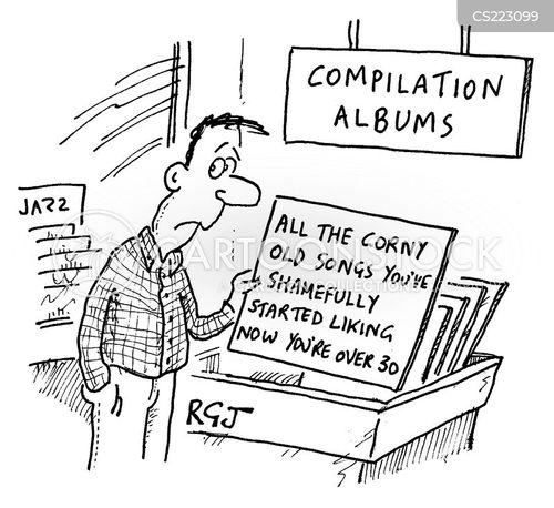 corny cartoon