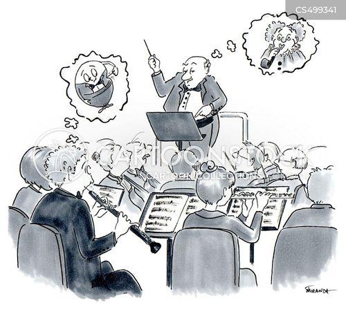 maestro cartoon