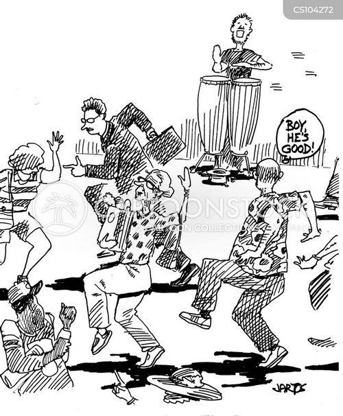 conga cartoon