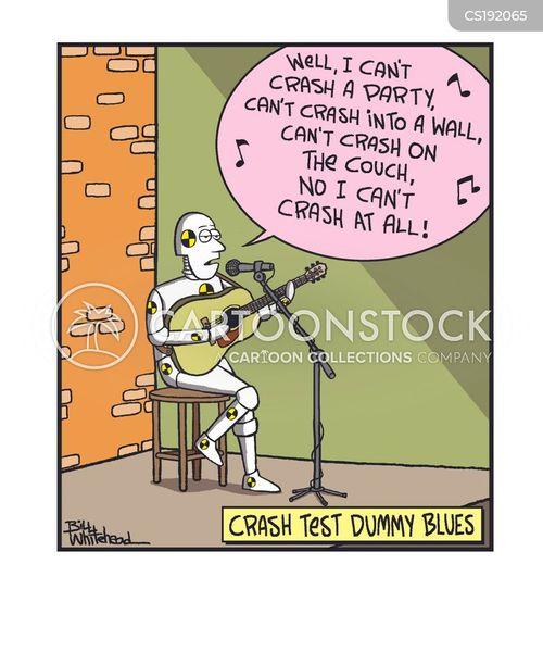 blues music cartoon