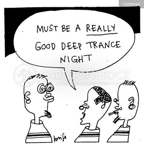 dance music cartoon