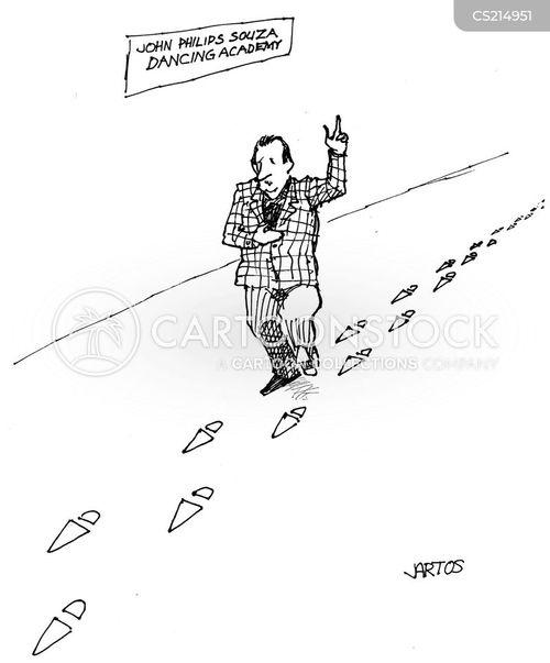 dance schools cartoon