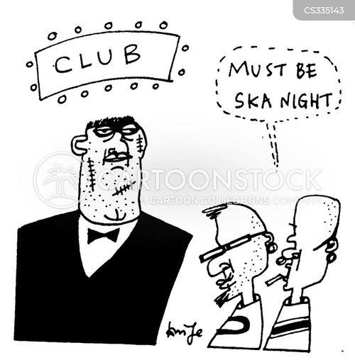 dance club cartoon