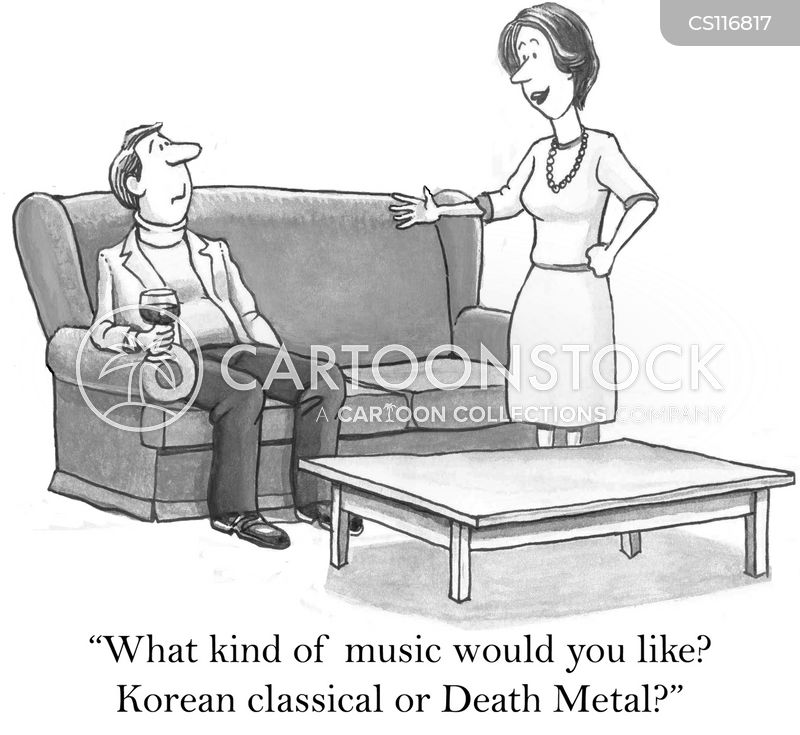 musical tastes cartoon