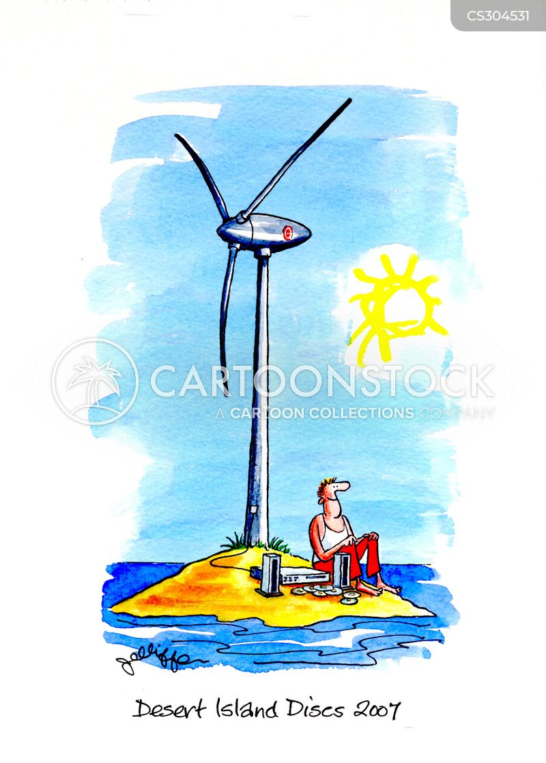 electricity generator cartoon