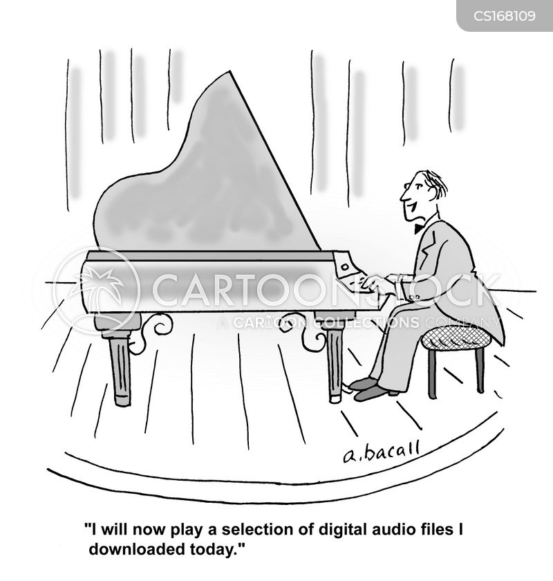 Pianists Cartoons And Comics Funny Pictures From
