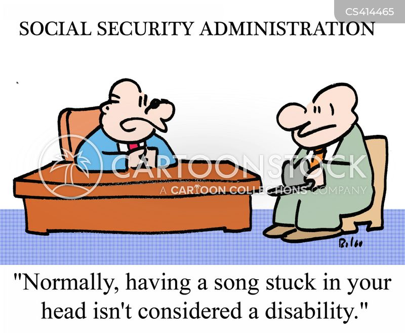 disability welfare cartoon