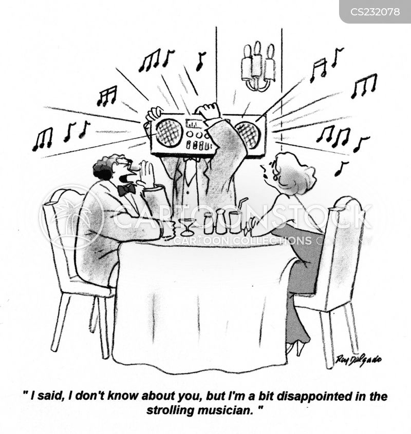 hi fi cartoon