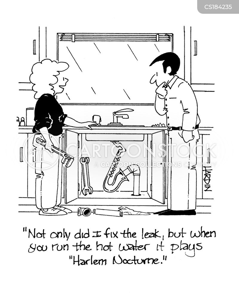 sinks cartoon