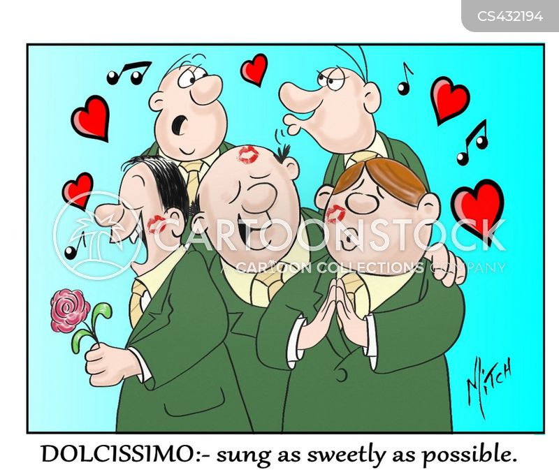 choir music cartoon