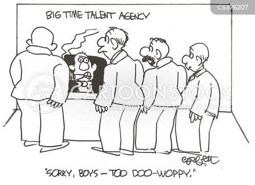 barbershop quartet cartoon