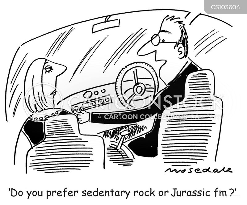 car radio cartoon