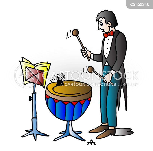 drum kit cartoon