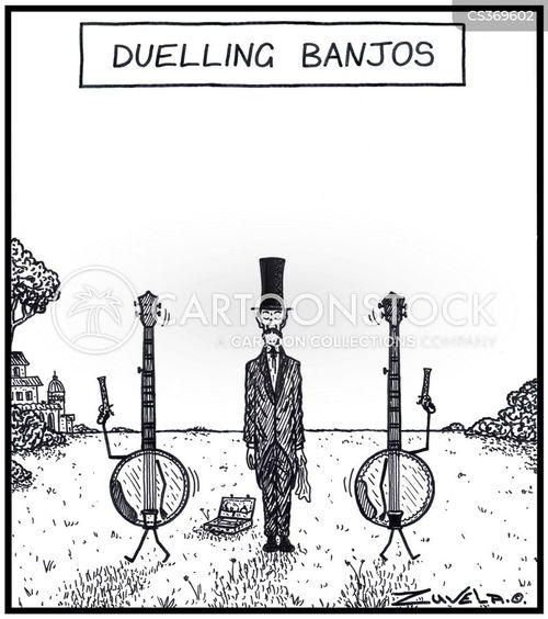 instrumental cartoon