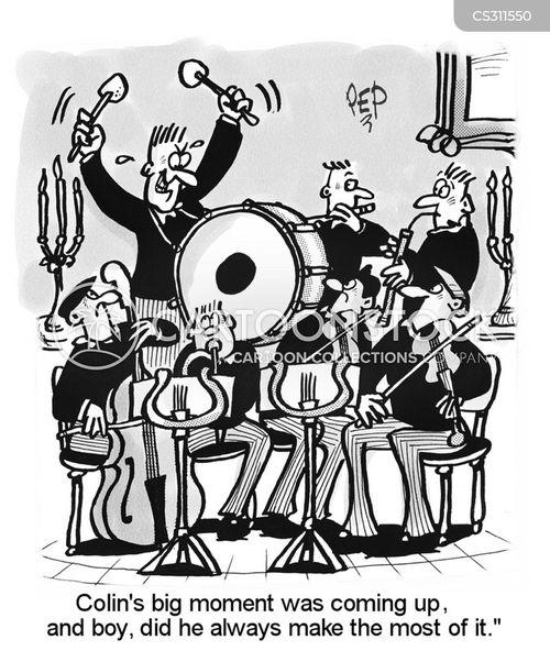 showiness cartoon
