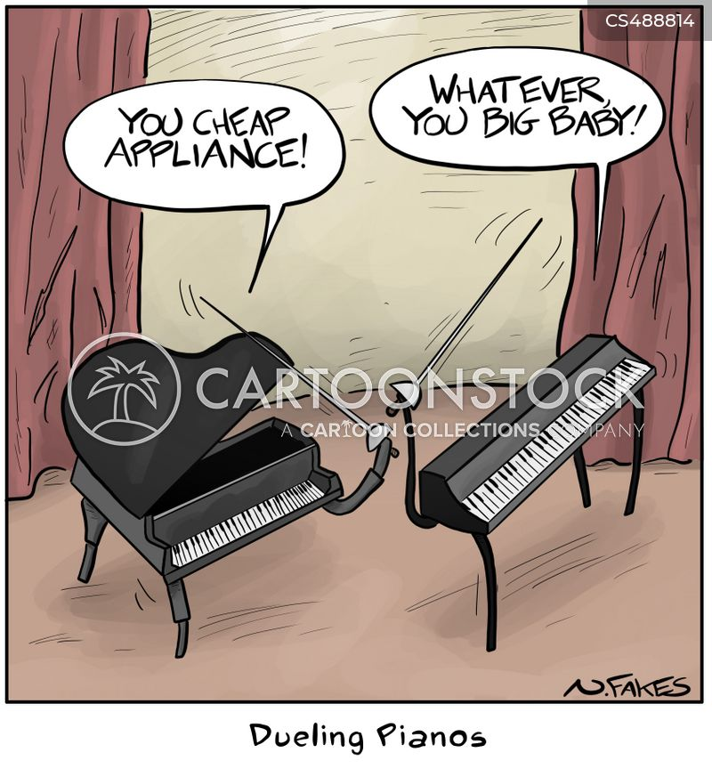 Piano Makers Cartoons and Comics - funny pictures from CartoonStock