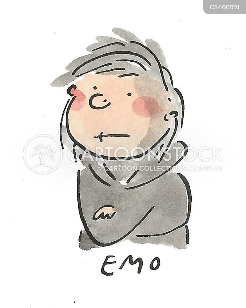 emo cartoon