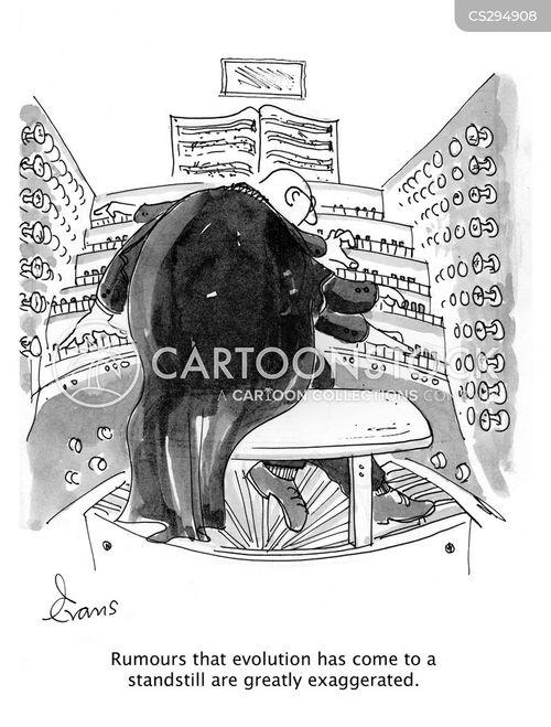 exaggerates cartoon
