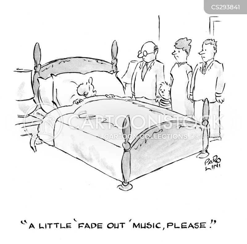 fade out music cartoon