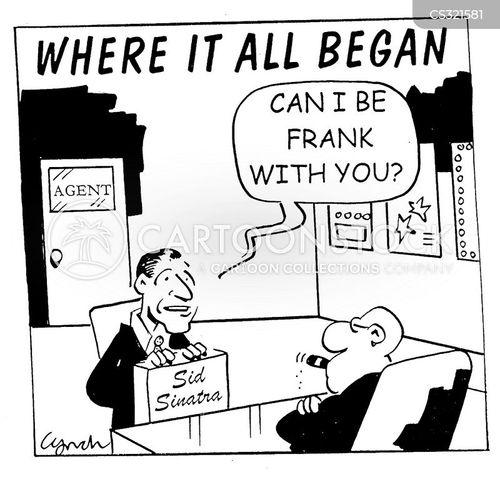 frank sinatra cartoon