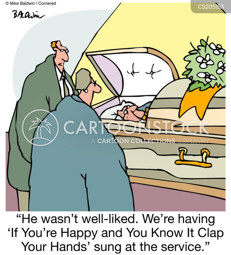 hymn cartoon