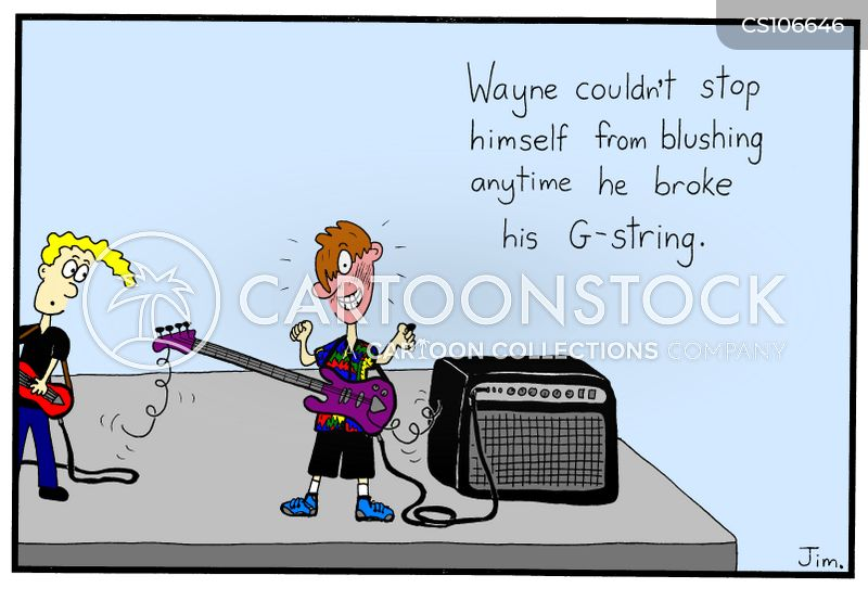 g-string cartoon