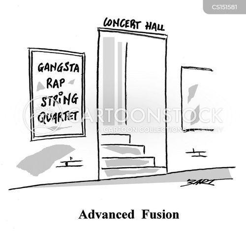 music genre cartoon