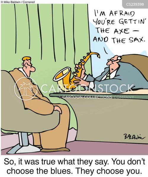 saxes cartoon